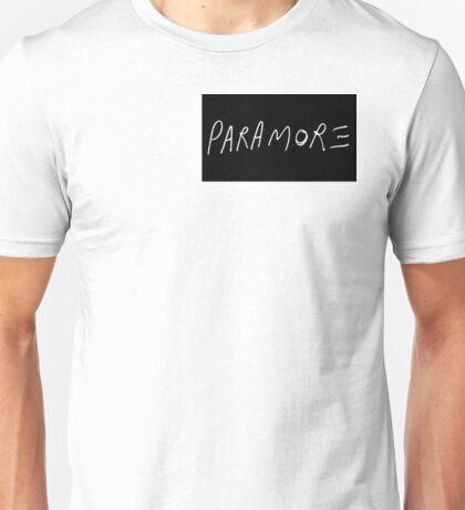 Paramore Logo Unisex T-Shirt