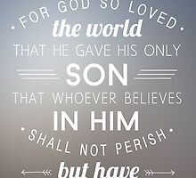 John 3:16 by kelliehags2