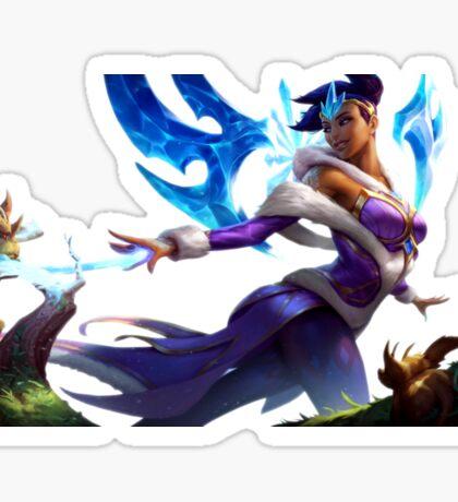 Winter Wonder Karma League Of Legends Sticker