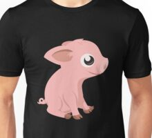 Glitch Inhabitants piglet Unisex T-Shirt