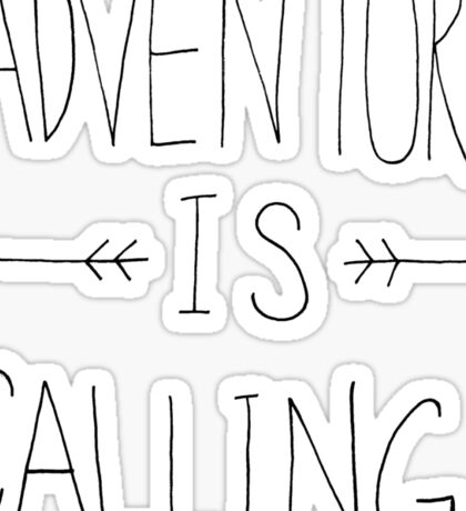 Adventure Mountain Sticker