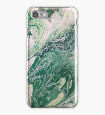 Chocolate Mint Marble iPhone Case/Skin