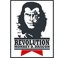 Monkey D. Dragon X Che 2.0 Photographic Print