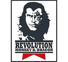 Monkey D. Dragon X Che 2.0 Photographic Print
