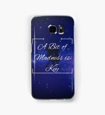 """A Bit of Madness is Key"" - La La Land Samsung Galaxy Case/Skin"