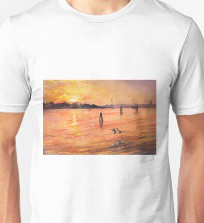 Venice sunset- Italy Unisex T-Shirt