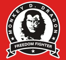 Monkey D. Dragon X Che One Piece - Short Sleeve
