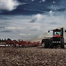 Case IH 485  by Steve Baird