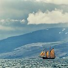 Husavik Sailing Ship by Claire Walsh