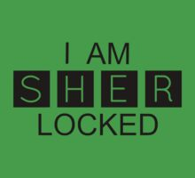 I AM SHER-LOCKED Kids Clothes