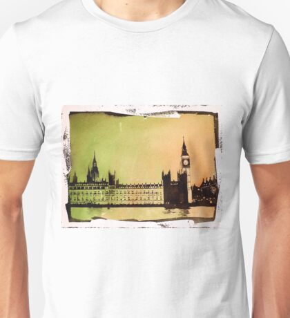 Big Ben watercolor painting- London, England Unisex T-Shirt