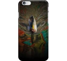 Duck in colorful pond trippy iPhone Case/Skin
