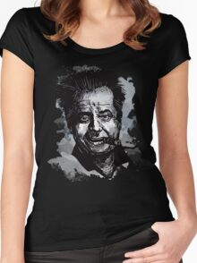 Icon: Jack Nicholson Women's Fitted Scoop T-Shirt