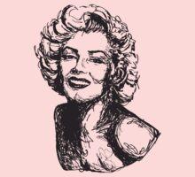 Icon: Marilyn Monroe  Baby Tee