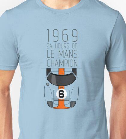 1969 Race Winner Unisex T-Shirt