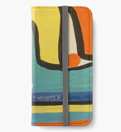 Colorful Abstract iPhone Wallet/Case/Skin
