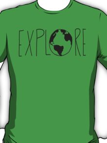 Explore the Globe T-Shirt
