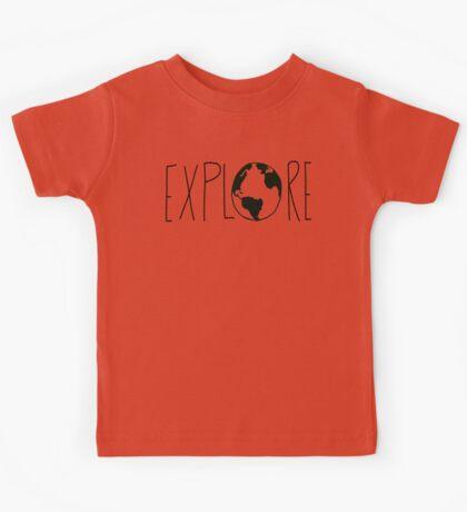 Explore the Globe Kids Tee