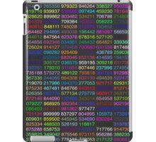 Pi Chart, Numbers iPad Case/Skin