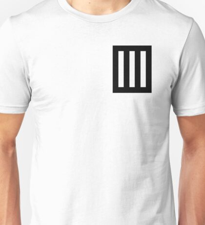 Paramore Bars Unisex T-Shirt