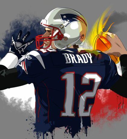 Brady - The Legend  Sticker