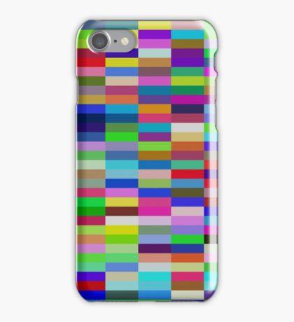 Pi Chart, Blocks iPhone Case/Skin