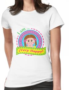¡I am very happy! Womens Fitted T-Shirt