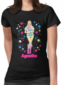 Agnetha Faltskog ABBA Womens Fitted T-Shirt