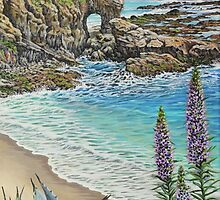 Keyhole Rock Laguna by Jane Girardot