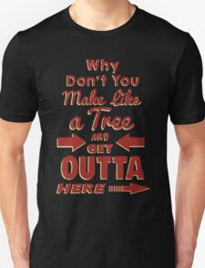 The Immortal Words of Biff Tannen T-Shirt