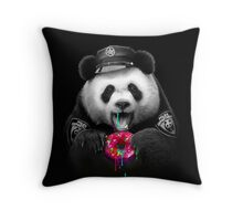 DONUT COP Throw Pillow