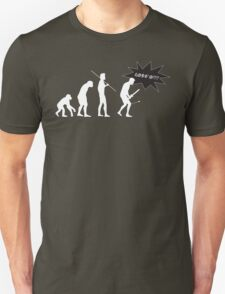 Skyrim - I Evolved Until... on dark T-Shirt