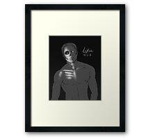 Hannibal Lecter - Lights Out Framed Print