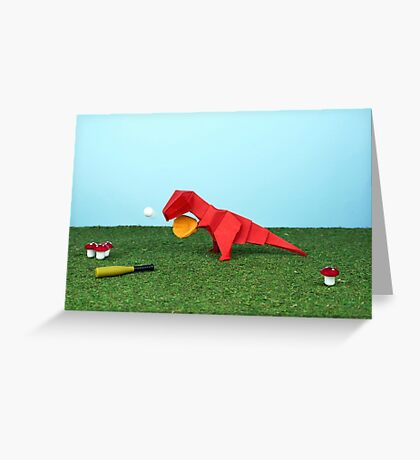 Yes T-Rex can! Greeting Card