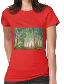 Coastal Redwoods Womens Fitted T-Shirt