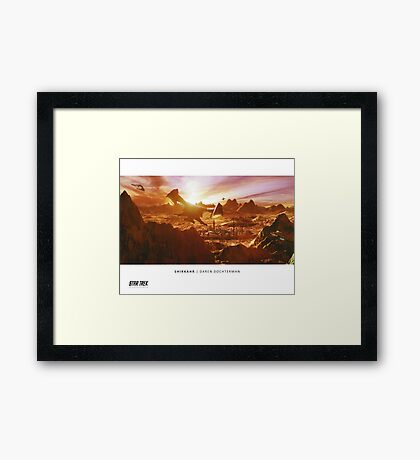Ships of the Fleet - Shirkahr Framed Print