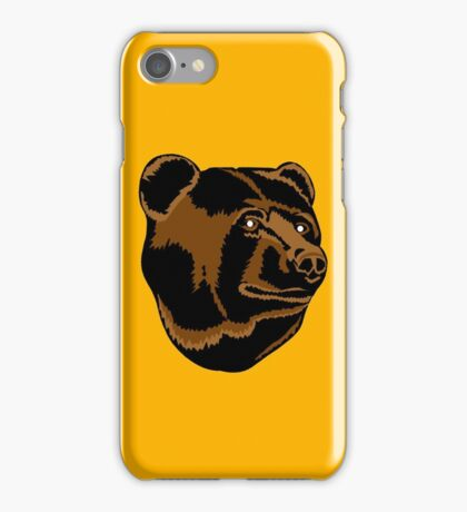 Bruins Pooh Bear iPhone Case/Skin