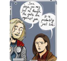 Probably Just Loki  iPad Case/Skin