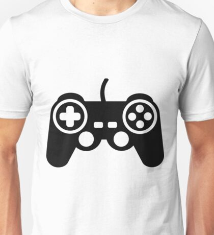 Game Pad Controller Funny Video Game Shirts Unisex T-Shirt