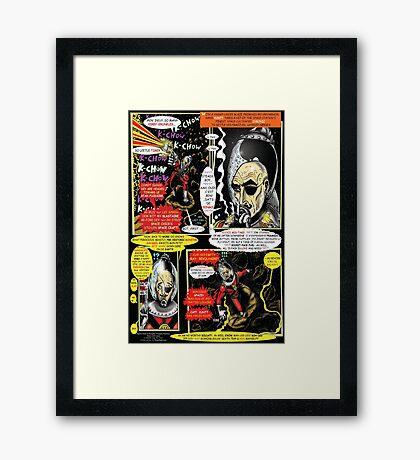 Page #3 of Tex Watt's  (UNCENSORED) SUNDAY COMIX POP-ART Framed Print