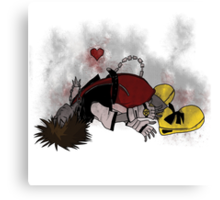 Sleeping Heart Canvas Print
