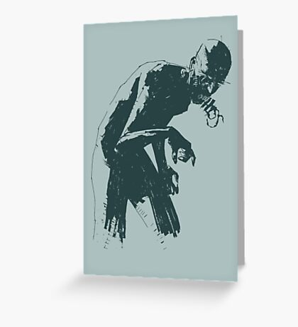 Ghoul Greeting Card