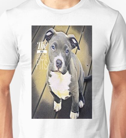 Dallas the Pit Bully Unisex T-Shirt