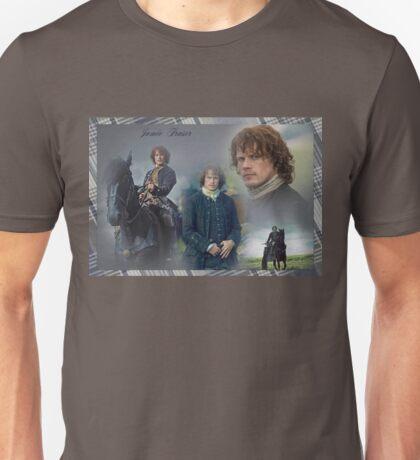Jamie Fraser collage Unisex T-Shirt