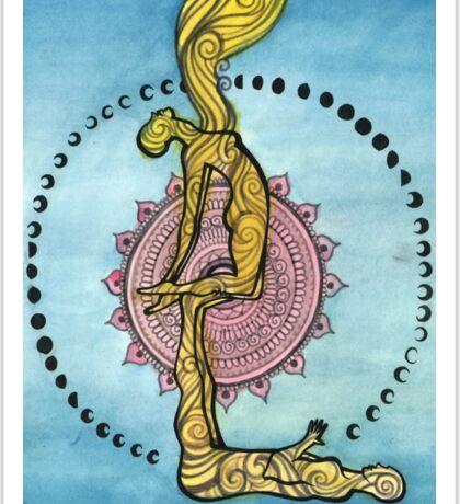 Acro Yoga Sticker