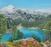Mount Baker Wilderness by Jane Girardot