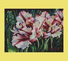 Fancy Parrot Tulips Baby Tee