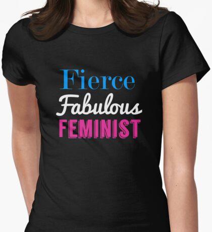Fierce Fabulous Feminist Womens Fitted T-Shirt