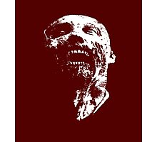 zombie face Photographic Print