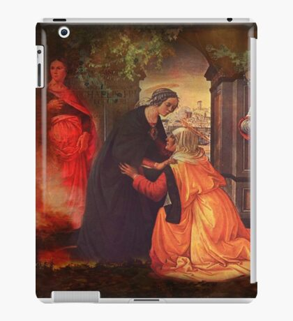 The Visitation - 2nd Mystery of the Rosary  iPad Case/Skin